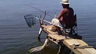 вымостка для рыбалки построить