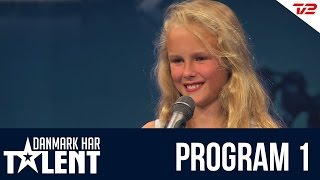 getlinkyoutube.com-Anna Grace - Danmark har talent - Program 1