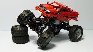 getlinkyoutube.com-LEGO Technic PF Rock Crawler