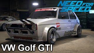 getlinkyoutube.com-Need For Speed 2015 : Customization - Volkswagen Golf GTI (1976) NFS Gameplay