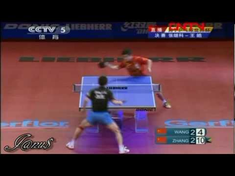 2011 Men's World Cup (ms-f) WANG Hao - ZHANG Jike [Full Match|Short Form]