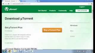 getlinkyoutube.com-How to Download Free Movies Using uTorrent
