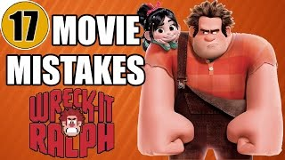 getlinkyoutube.com-17 Mistakes of WRECK-IT RALPH You Didn't Notice