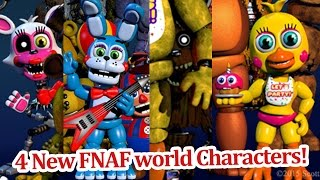 getlinkyoutube.com-4 New FNAF world Characters revealed! FNAF world news!