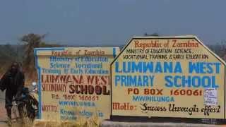 Baal Dan Pre School Opening in Zambia