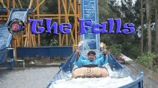 getlinkyoutube.com-Wahana Permainan The Falls di Funland - Mikie Holiday - Berastagi. [HD]