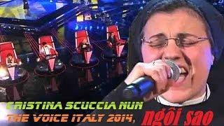 getlinkyoutube.com-Nữ tu Cristina Scuccia bùng nổ vòng Giấu mặt The Voice Italy 2014, Ma Soeur ngôi sao the Voice Italy