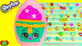 getlinkyoutube.com-Shopkins Season 3 Patty Cake Play Doh Surprise Egg