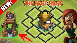 "getlinkyoutube.com-""NEW BOMB TOWER!"" BEST BASE TH8 