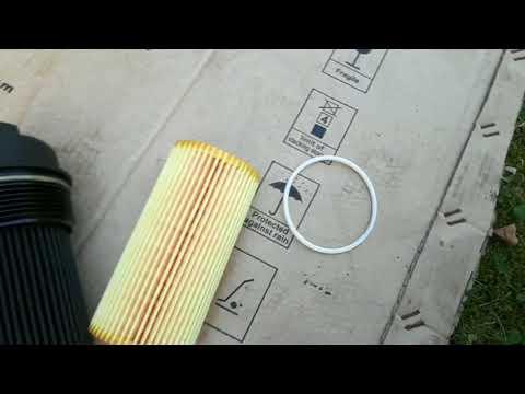 Замена масла в ДВС VOLVO XC90 с помощью электрического насоса.