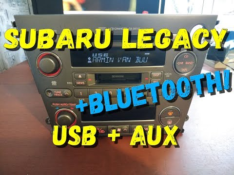 Магнитола Legacy USB BT AUX Дорестайл (S300BT)