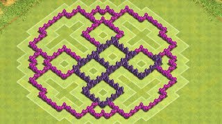 getlinkyoutube.com-Clash Of Clans - Best Town Hall 7 Farming Base ( th7 ) !! ( The Ring) Speed Build 2014