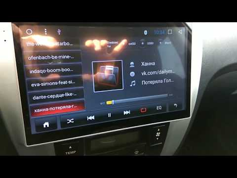 Автомагнитола для Hyundai Tucson 10.1 android 6.0.1 (обзор)