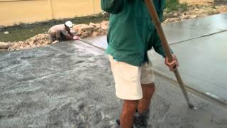 Hướng dẫn cách làm mặt đường bê tông