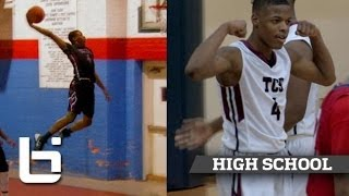 getlinkyoutube.com-Dennis Smith Jr is the Best PG in NC Since John Wall: Official Sophomore Mixtape
