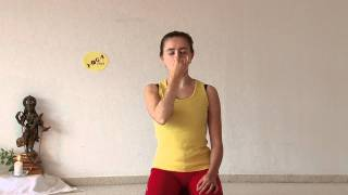 Kapalabhati and Anuloma Viloma - Pranayama Yoga Breathing Exercises