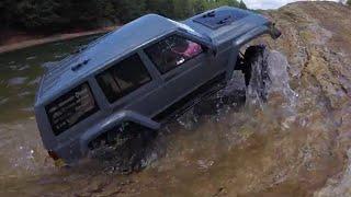 getlinkyoutube.com-** Is it waterproof?...New Axial SCX10 II Jeep Cherokee Sport RTR AX90047***Tybo's RC Motorsports