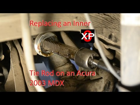 Replace a Inner Tie Rod on a 2003 Acura MDX, How To