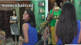 getlinkyoutube.com-Out Station Haircut Rajsthan Part 1( Long To Short)