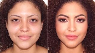 getlinkyoutube.com-Maquillaje Cálido  Y  Como Cubrir Ojeras