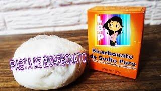 getlinkyoutube.com-Porcelana FRIA BICARBONATO FACIL Y RAPIDA 3 INGREDIENTES / SODA CLAY EASY !!