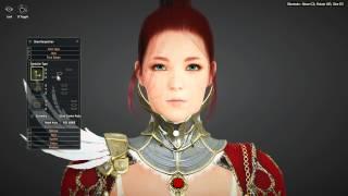getlinkyoutube.com-Black Desert (KR) | Valkyrie Character Creation Sexy Redhead (OBT Gameplay)