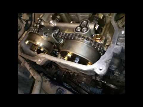 Замена цепи ГРМ Toyota Corolla 150 (1ZR-FE)