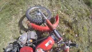 getlinkyoutube.com-Simson Steilhangrennen Schkölen 2016 | Simsoncross | Tuning | Fail - Olister 94 (GoPro)
