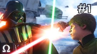 getlinkyoutube.com-BACK TO BACK FORCE POWERED EPICNESS! | Star Wars Battlefront #1 (Live Highlights)