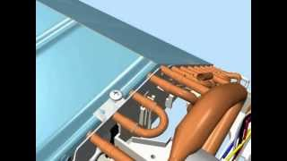getlinkyoutube.com-Unionaire : Air Conditioner Assembly Animation by MS Designs