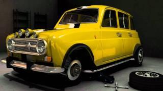 getlinkyoutube.com-Manicol's Renault R4 with Autodesk Maya