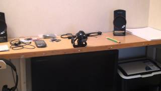 getlinkyoutube.com-Компьютерный стол своими руками (handmade)