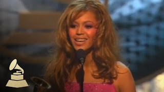 Beyonce accepting the GRAMMY for Best Contemporary R&B Album at the 46th GRAMMY Awards | GRAMMYs