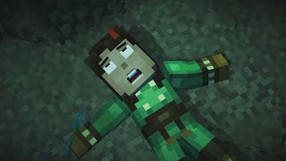 getlinkyoutube.com-Minecraft: Story Mode - All Deaths and Kills Episode 4 60FPS HD