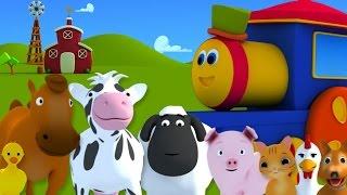 getlinkyoutube.com-BOB EL TREN FUE A LA GRANJA | Bob, Farm Song