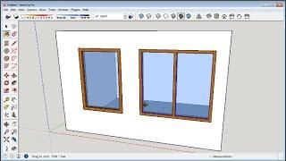 getlinkyoutube.com-Sketchup How To Make Windows