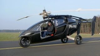 getlinkyoutube.com-Flying Car ► Pal-V One