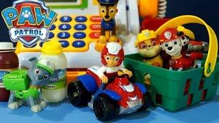 getlinkyoutube.com-Мультик из игрушек Щенячий Патруль на русском. Детский Супермаркет - Магазин. Видео для малышей