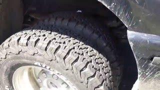 getlinkyoutube.com-New truck tires! BF Goodrich All Terrain T/A KO2