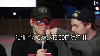 getlinkyoutube.com-5SOS FUNNY MOMENTS // 2017 PART 1
