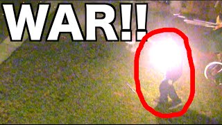 getlinkyoutube.com-FIREWORK WAR!!! Roman Candle, HEAD SHOTS, & Epic Battles!