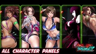 getlinkyoutube.com-Tekken Tag Tournament 2 - All Character Panels