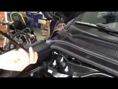 Установка гидравлических упор капота на новый Ford Explorer 2016