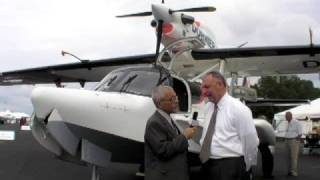 getlinkyoutube.com-Dornier's New SeaStar Inline Twin Turboprop Seaplane