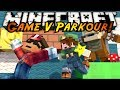 Minecraft Parkour : GAME V Part 2! MARIO PARKOUR!