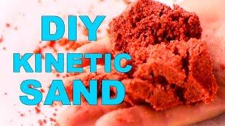 getlinkyoutube.com-How to make Colored KINETIC SAND. 3 ways to make the KINETIC SAND. Homemade KINETIC SAND.