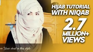 getlinkyoutube.com-Hijab Tutorial with Niqab | ParizaaD