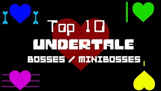 getlinkyoutube.com-Top 10 Undertale Bosses / Minibosses