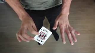 getlinkyoutube.com-Card Trick Tutorial - Make A Card Vanish At Your Fingertips [HD]