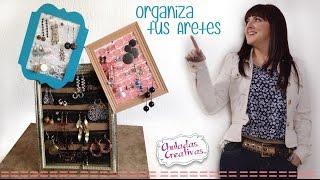 getlinkyoutube.com-Porta Aretes :: Chuladas Creativas :: Organiza tus aretes